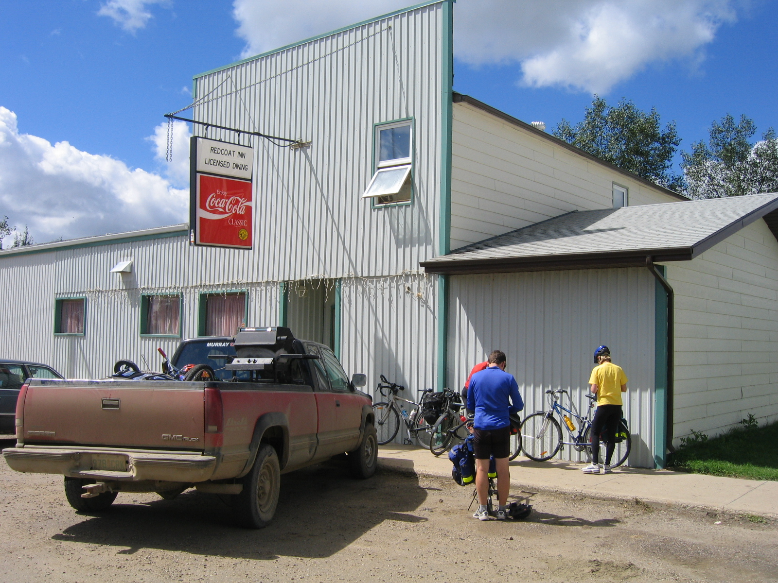 Gravelbourg Saskatchewan | Olin and Suzanne's cycling trip